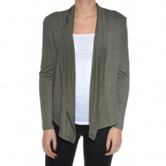 Cardigan Dama Only Lucy Wrap - Pulover dama Only, Marime: S, Culoare: Khaki, Poliester