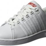 Adidasi K-Swiss Lozan III TT marimea 40, 41, 42, 42.5 si 43, Alb, Piele naturala