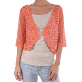 Cardigan Dama Only New Lucia 2/4 Short Coral - Bluza dama Only, Marime: S, Culoare: Roz