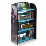Raft copii 3-6 Ani pentru carti si jucarii din lemn Star Wars - Sistem depozitare jucarii