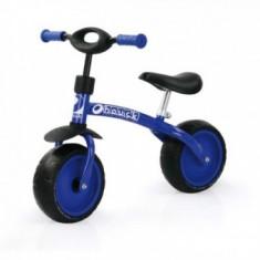 Bicicleta Fara Pedale Bebelusi Super 10 - Blue - Bicicleta copii Hauck