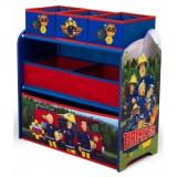 Organizator Copii 3-6 Ani cu cadru din lemn Fireman Sam - Sistem depozitare jucarii