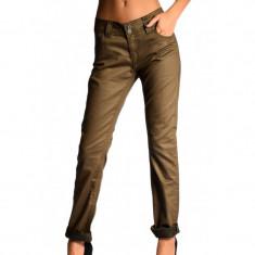 Pantaloni Dama Saint Tropez Lisa, Marime: 31, Culoare: Maro