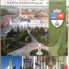 Gherla - Harta municipiului
