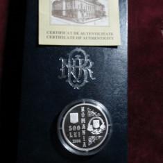 Uncie din AG.999-Universitatea din Bucureşti - 140 de ani de la înfiinţare - Moneda Romania, An: 2004, Argint