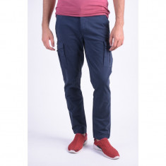 Pantaloni Bumbac Jack&Jones Frame Bleumarin - Pantaloni barbati, Marime: 33