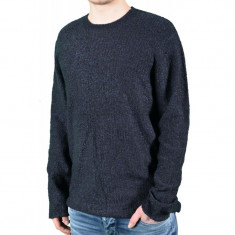 Pulover Barbati Jack&Jones Cobinder Knit, Marime: L, Culoare: Negru