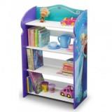 Organizator carti si jucarii cu cadru din lemn Disney Frozen - Sistem depozitare jucarii