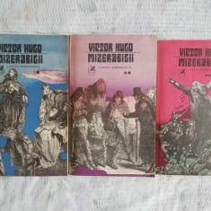 Mizerabilii 3 trei volume de victor hugo bonus
