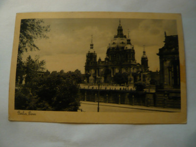 Ilustrata 1935 Domul Berlin ,stampila Expozitia Radio Germania foto
