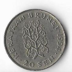 Moneda 20 sen 1994 - Brunei, Africa