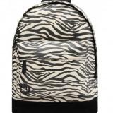 Rucsac Mi-Pac Canvas Zebra Negru (100% Original) - Cod 787851435346, Din imagine, Marime universala