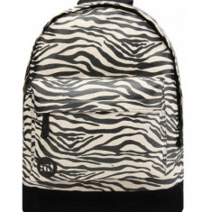 Rucsac Mi-Pac Canvas Zebra Negru (100% Original) - Cod 787851435346 - Rucsac Barbati, Culoare: Multicolor, Marime: Marime universala