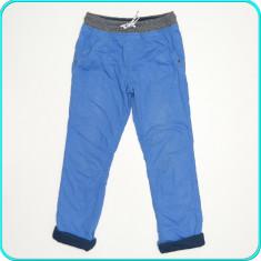 Pantaloni comozi, caldurosi, captusiti, bumbac, C&A → baieti | 9—10 ani | 140, Marime: Alta, Culoare: Albastru