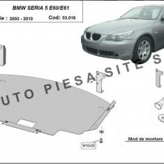 Scut metalic motor BMW Seria 5 E60 / E61 fabricat intre 2003 - 2010 cod APS-03, 016 - Scut motor auto