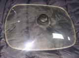 Capac din sticla termorezistenta pentru gratar electric 42 cm /32 cm