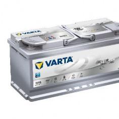 Acumulator baterie auto VARTA Silver Dynamic 105 Ah 950A tip AGM (pentru sistem START/STOP) cod 605901095D852, 100 - 120