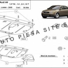 Scut metalic motor Audi A4 B6 cu motor in 4 cilindrii fabricat intre 2001 - 2005 cod APS -30, 004 - Scut motor auto
