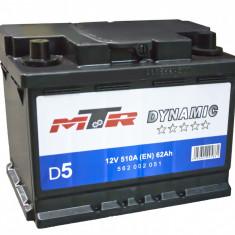 Acumulator Baterie auto Rombat MTR Dynamic L2 62 Ah 510A cod 562002051, 60 - 80