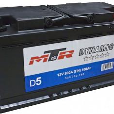 Acumulator Baterie auto Rombat MTR Dynamic L5 100 Ah 800A cod 500002080, 100 - 120