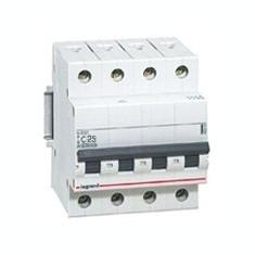 Disjunctor 419743 4P/C/25A/4.5KA - Tablou electric si siguranta