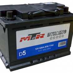 Acumulator Baterie auto Rombat MTR Dynamic L3 77 Ah 640A cod 577002064, 60 - 80