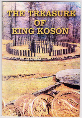 The treasure of King Koson-Comoara regelui Coson publicatie MNIR  catalog expoz. foto