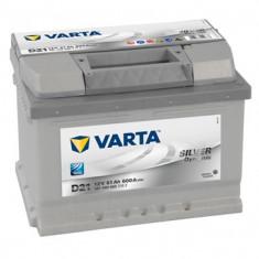 Acumulator baterie auto VARTA Silver Dynamic 61 Ah 600A cod 5614000603162, 60 - 80