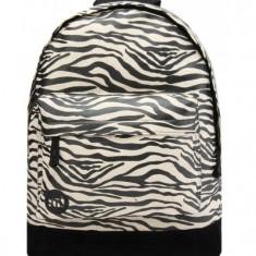 Rucsac Mi-Pac Canvas Zebra Negru (100% Original) - Cod 787851435344 - Ghiozdan, Unisex, Multicolor