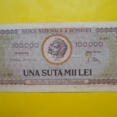 ROMANIA 100000 LEI 1947 - Bancnota romaneasca