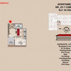 Garsoniera Brasov - Garsoniera de vanzare, 44 mp, An constructie: 34612, Mansarda