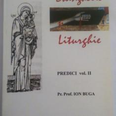 Evanghelie si Liturghie. Predici Vol. II - Pr. Prof. Ion Buga (cu autograf) - Carti Predici