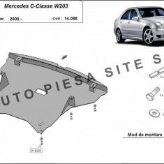 Scut metalic motor Mercedes C-Class W203 fabricat dupa 2000 cod APS-14, 088 - Scut motor auto