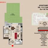 Apartament 2 camere Brasov, zona Tractorul - Apartament de vanzare, 49 mp, Numar camere: 2, An constructie: 2017, Parter