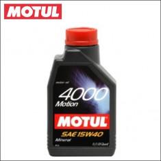 Ulei motor MOTUL 4000 MOTION 15W40 1L cod 4000 MOTION 15W40 1L