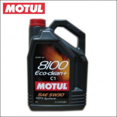 Ulei motor MOTUL 8100 ECO-CLEAN+ 5W30 5L cod 8100 ECO-CLEAN+ 5W30 5L