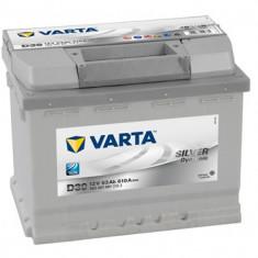 Acumulator baterie auto VARTA Silver Dynamic 63 Ah 610A cu borne inverse cod 5634010613162, 60 - 80