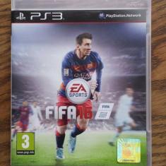 Joc FIFA 16, PS3, original - Jocuri PS3 Ea Sports