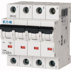 Disjunctor PL4-C20/3N 3P+N/20A/4.5KA - Tablou electric si siguranta