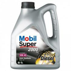 Ulei motor Mobil 1 MOBIL SUPER 2000 X1 Diesel 10W40 4L cod 150869 / MS200010W40D/4