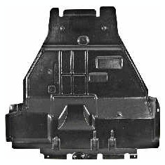 Scut motor plastic Citroen Berlingo MF VAN WEZEL cod 0904702 - Scut motor auto