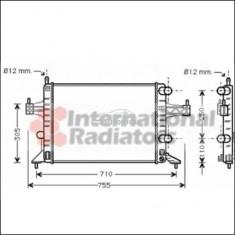Radiator racire apa Opel Corsa C F08 F68 1.2 VAN WEZEL cod 37002303
