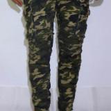 Pantaloni Army - pantaloni barbati pantaloni camuflaj pantaloni conici- cod 151 - Blugi barbati, Marime: 30, 32, 34, 36, 38, 40, Culoare: Din imagine, Slim Fit