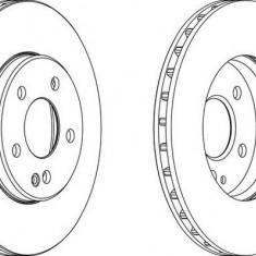 Disc frana fata ventilat Mercedes A-Class (W169) 09.04 - 06.12 ITN cod 10-230-832 - Discuri frana