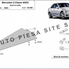 Scut metalic cutie viteze Mercedes C-Class W203 fabricat dupa 2000 cod APS-00, 090 - Scut motor auto