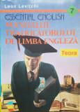 MANUALUL TRADUCATORULUI DE LIMBA ENGLEZA - Leon Levitchi