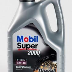 Ulei motor Mobil 1 MOBIL SUPER 2000 X1 Diesel 10W40 5L cod 2213235 / MS200010W40D/5
