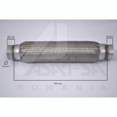 Racord tub flexibil toba esapament 45 x 300 mm ASAM cod 9845250