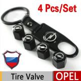 Opel capacele ventil+breloc metalice - Breloc Auto