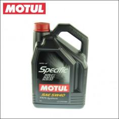 Ulei motor MOTUL SPECIFIC 505.01 5W40 5L cod SPECIFIC 505.01 5L